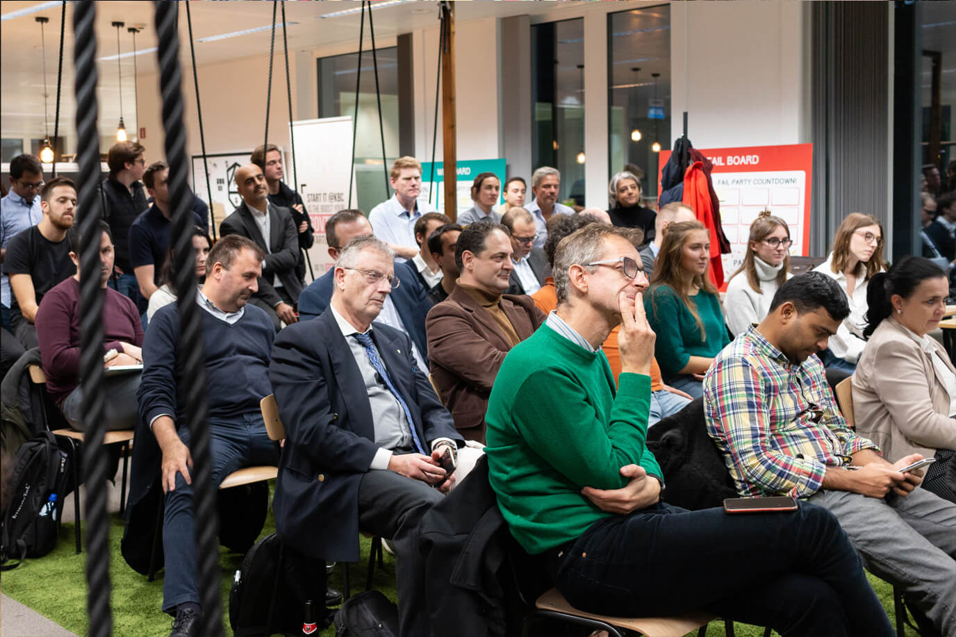 audience pitch in brussels